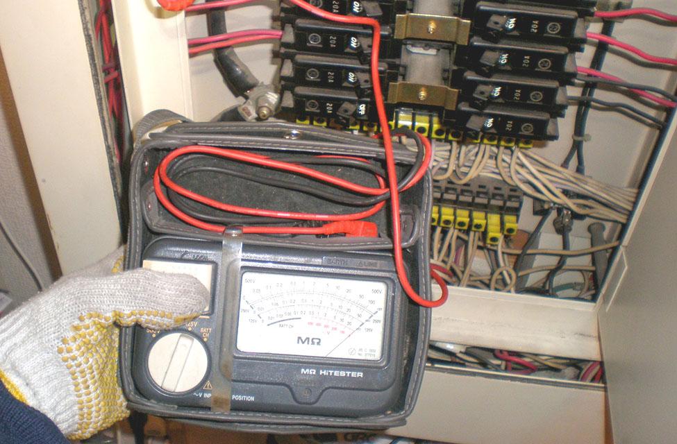 電流値測定検査