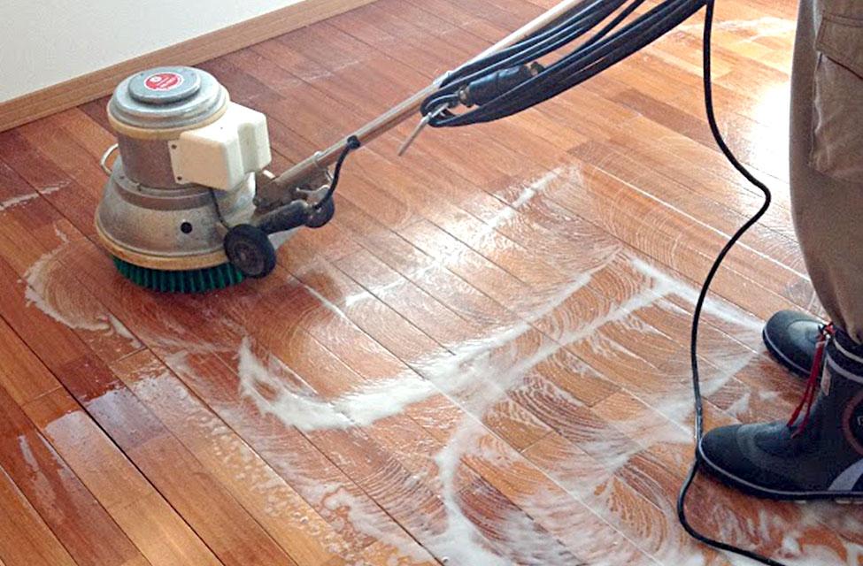 床面清掃・ワックス