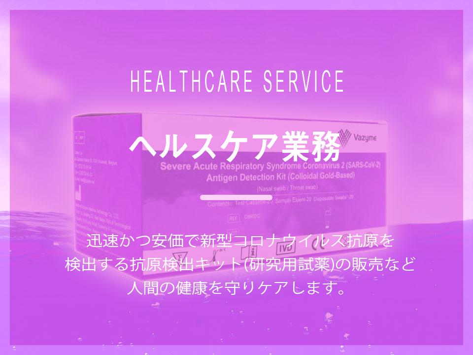 ヘルスケア業務